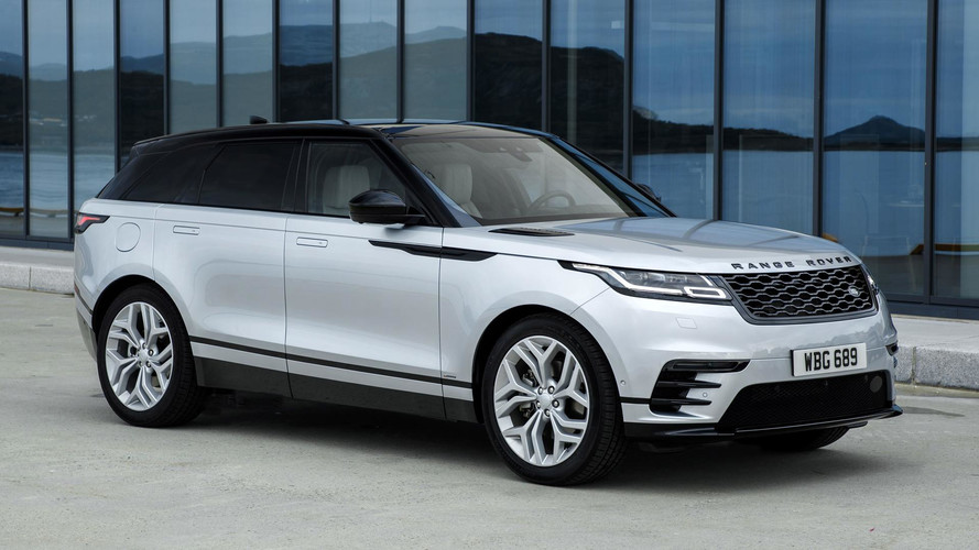2018 land rover range rover velar first drive photos. Black Bedroom Furniture Sets. Home Design Ideas
