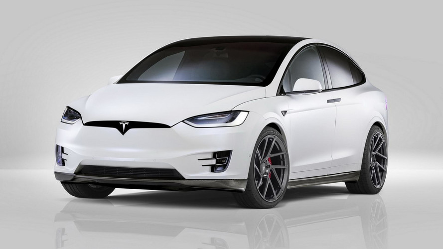 Novitec'ten Tesla Model X modifikasyonu