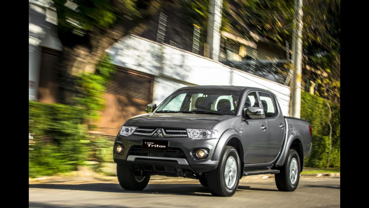Mitsubishi L200 Triton ganha série HLS Chrome Edition por R$ 87.990