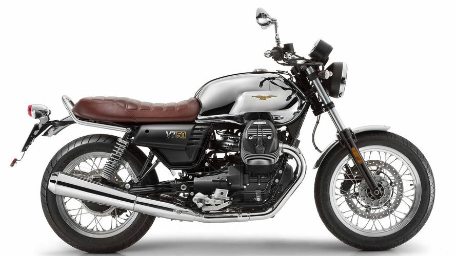Moto Guzzi honors V7's 50th anniversary