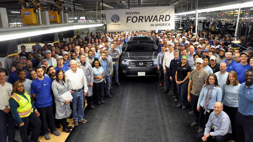 VW Atlas começa a ser produzido nos EUA; SUV familiar tem capacidade para 7 lugares