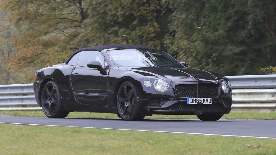 Les futures Bentley Continental GT et GTC se préparent !