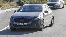 2015 Mercedes-Benz A-Class facelift spy photo
