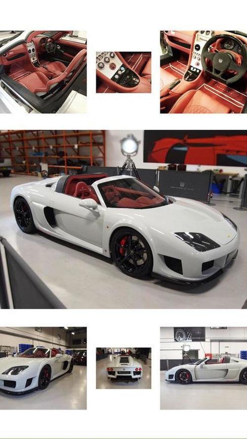 Noble M600 Speedster prototype unveiled at Autosport International
