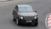 2016 Bentley Crossover spy photo