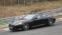 Aston Martin DB9 successor test mule spy photo