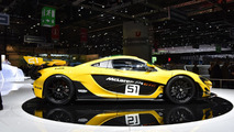 McLaren P1 GTR shows its lighter body in Geneva