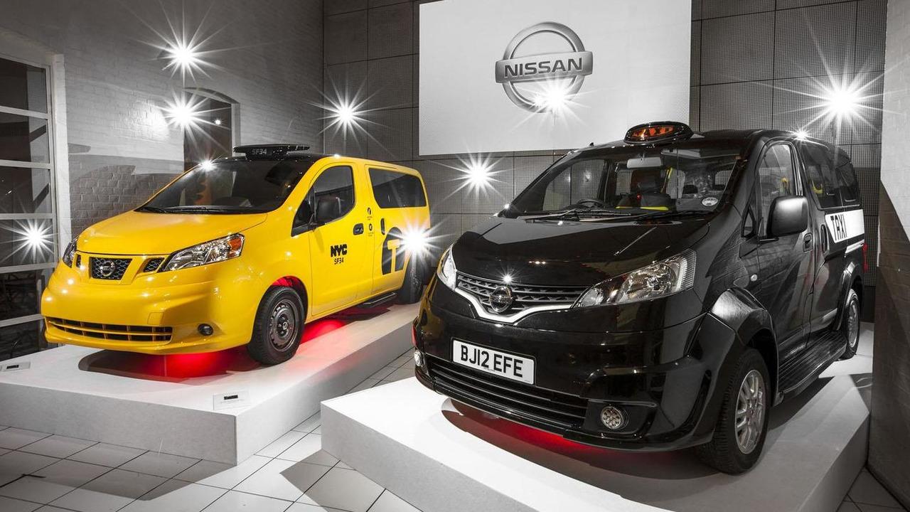 Nissan NV200 London Taxi 06.8.2012