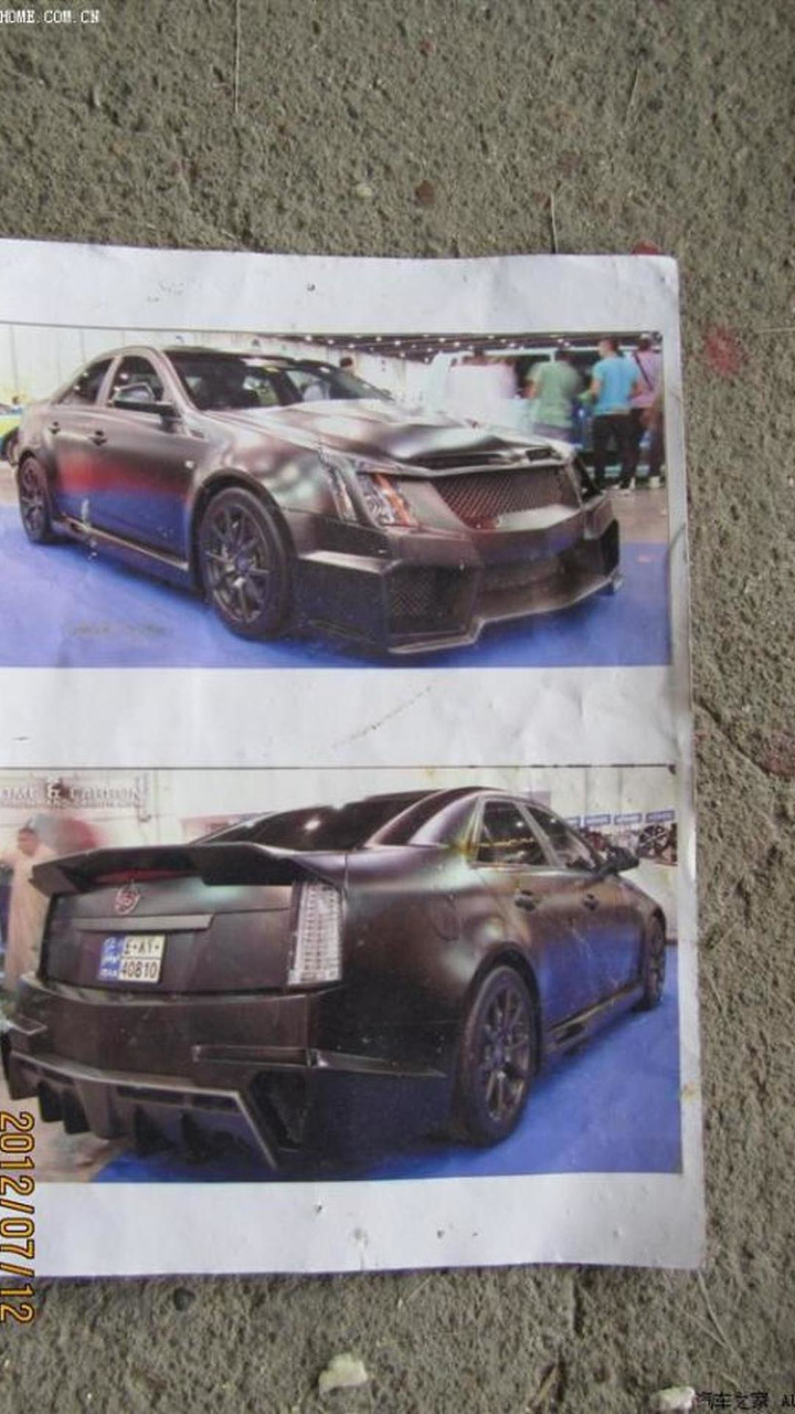 Modified Cadillac CTS
