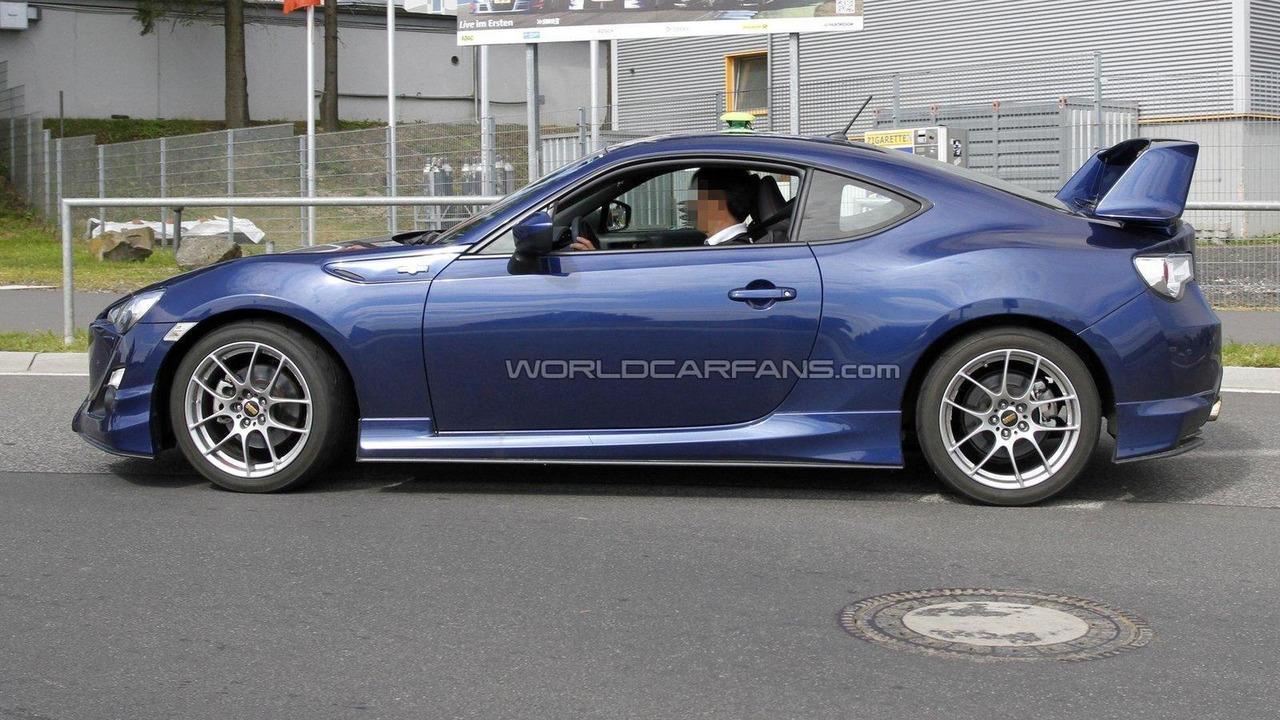 Toyota GT 86 aero kit Euro spec spy photo 27.06.2012