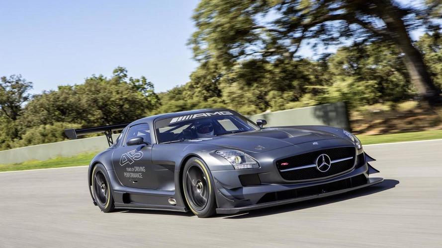 Mercedes-Benz SLS AMG GT3 45th Anniversary announced