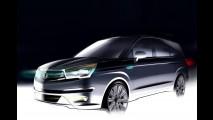SsangYong divulga primeiros teasers da nova geração da minivan Rodius