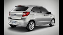 Novo Ka será opção de baixo custo da Ford na China em 2014