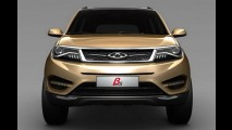 Chery mostra teaser de seu novo SUV global Beta 5