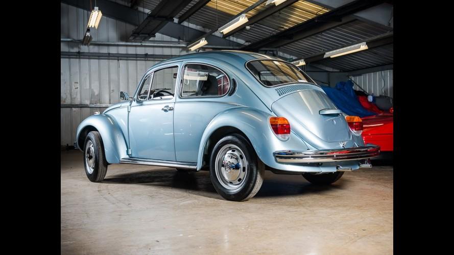 Impecável, VW Fusca 1974 com apenas 90 km rodados vai a leilão