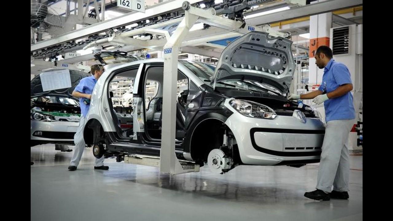 Volkswagen: fábrica de up!, Gol e Voyage dará férias coletivas por 21 dias