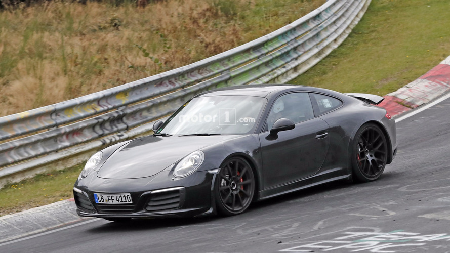 Porsche 911 2019 - Les photos confirment une version hybride