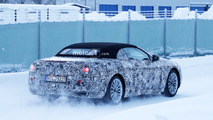 Next-gen BMW 6 Series Convertible spy photo