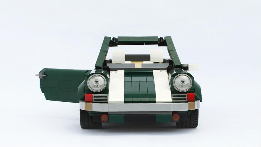 1967 - Porsche 911 Cabriolet en Lego