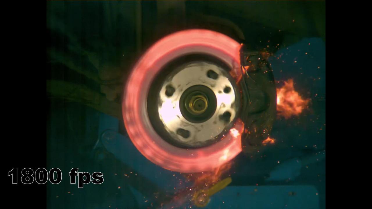 Crazy Finn Makes Brake Disk Explode For Our Enjoyment