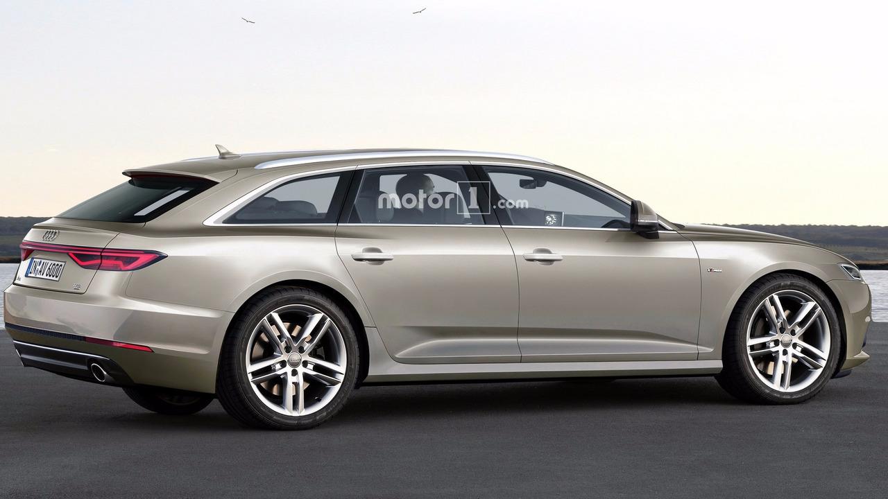 2018 Audi A6 Avant render