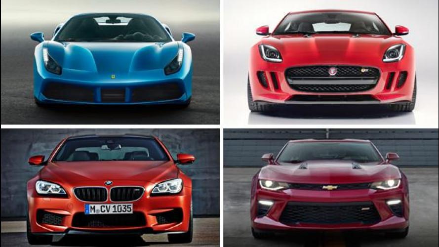 Motori V8, potenza per tutti i gusti