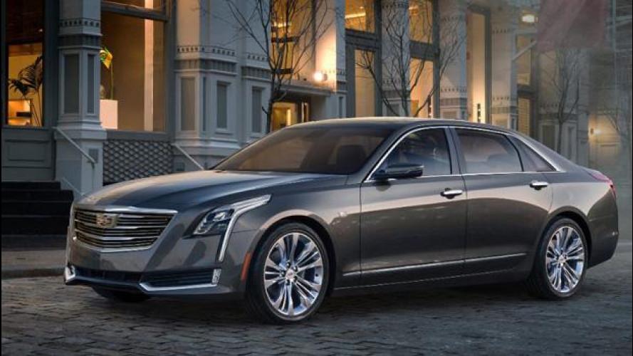 Cadillac CT6, la grande americana leggera