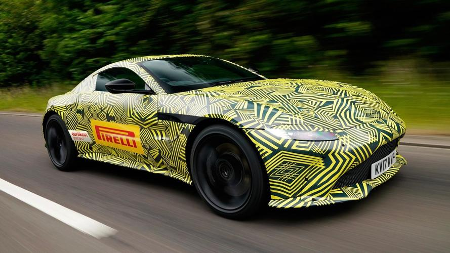 The new Aston Martin Vantage is coming soon