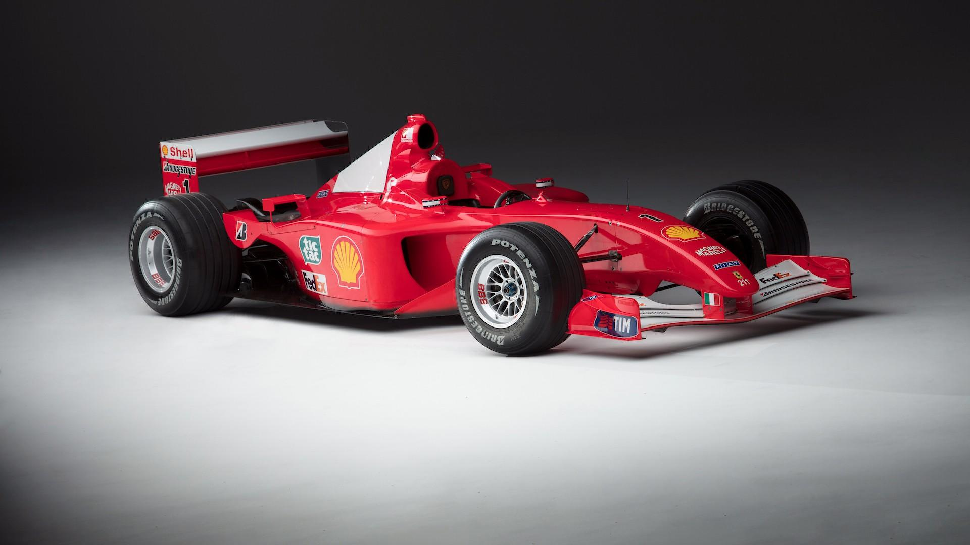 Schumachers coveted ferrari f1 car auctioned for 75m update voltagebd Images