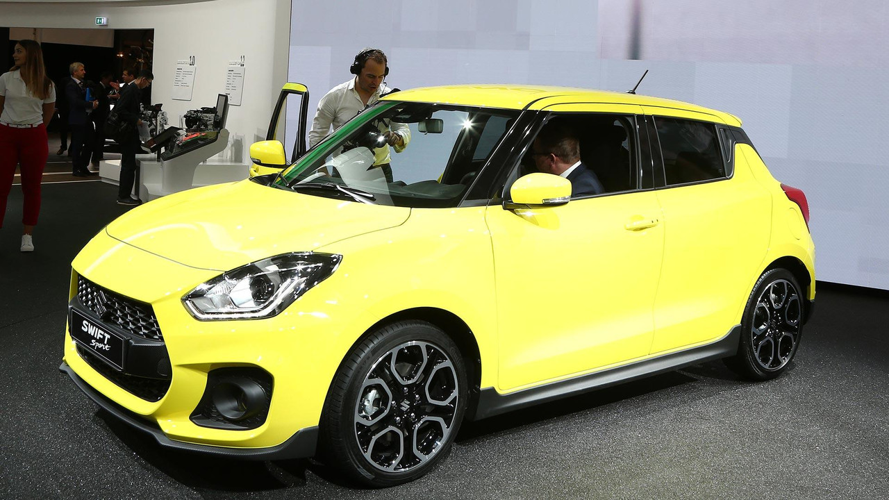 2018 suzuki swift sport adds turbo removes weight. Black Bedroom Furniture Sets. Home Design Ideas