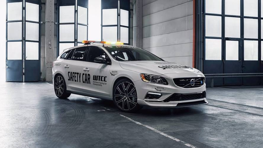 La Volvo V60 Polestar est la Safety Car la plus sûre