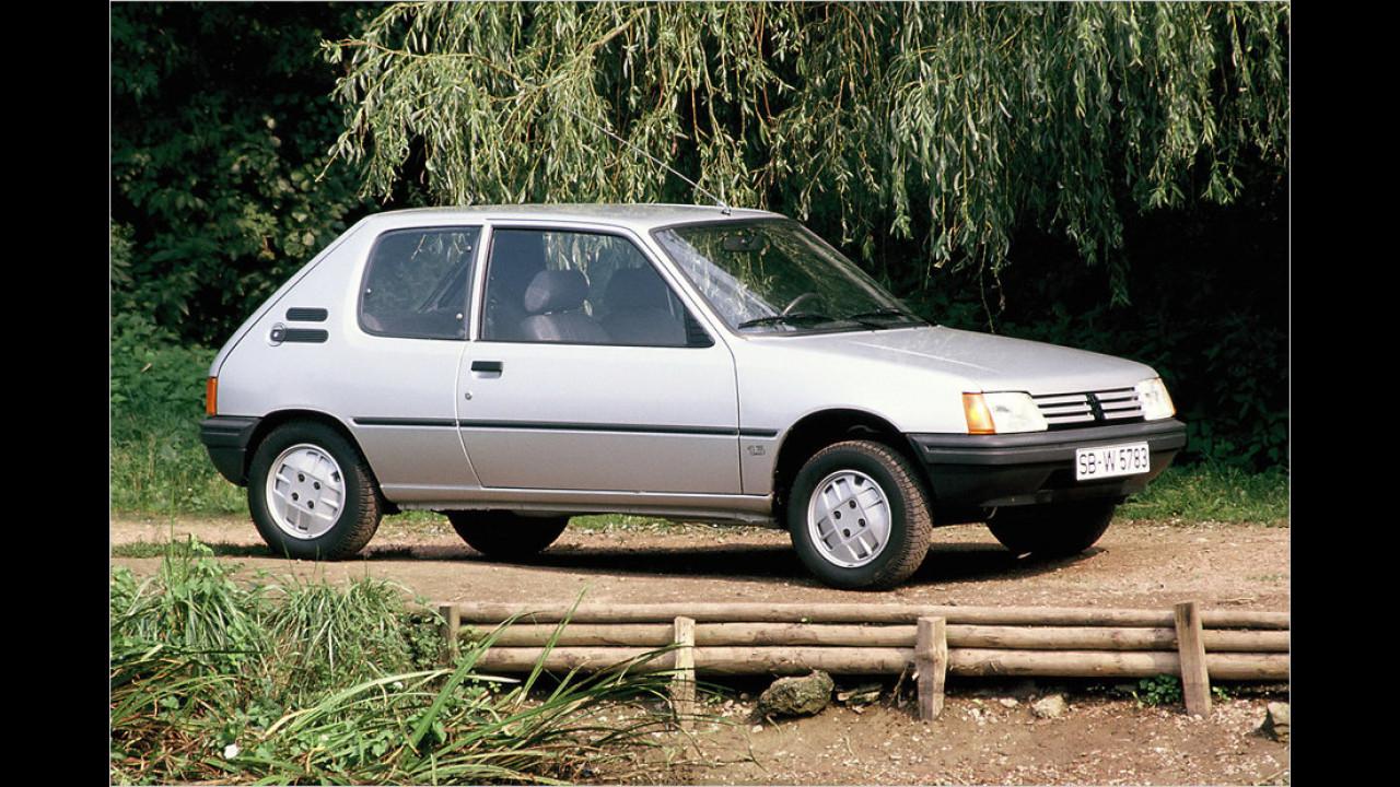 Peugeot 205 (1983 bis 1998)