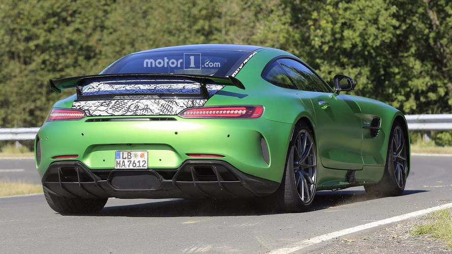 Une Mercedes-AMG GT R plus performante se profile à l'horizon