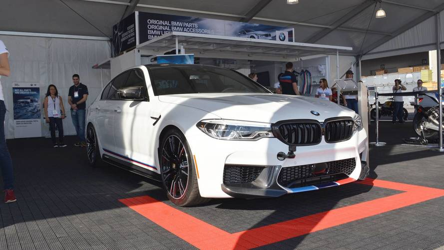 2018 BMW M5 Puts On M Performance Suit For SEMA