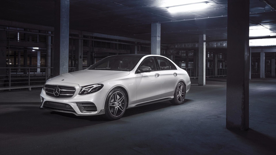 Be A Carbon Pro: E-Class Gets Amped With Carbon Fiber