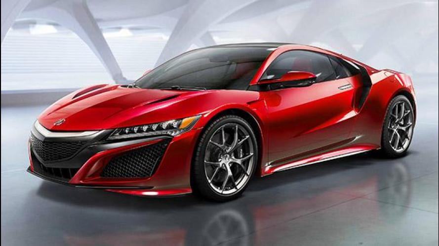 Nuova Honda NSX, il mito è tornato