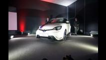MG3 il debutto europeo