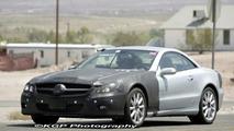 Mercedes SL Major Facelift Spy Photos