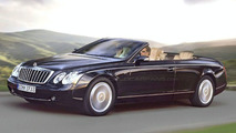 Maybach Convertible computer illustration