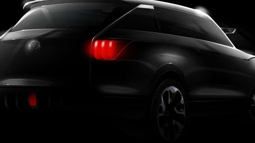 SsangYong XUV 1 concept teased for Frankfurt