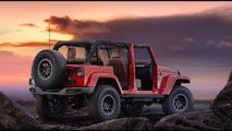 Wrangler Red Rock Concept