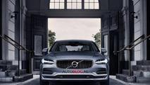 Volvo S90 leaked photo