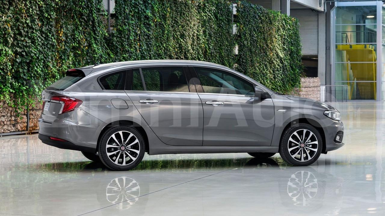 2016 Fiat Tipo wagon render