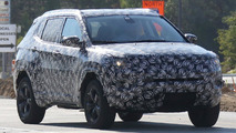 Jeep Cherokee facelift spy photo