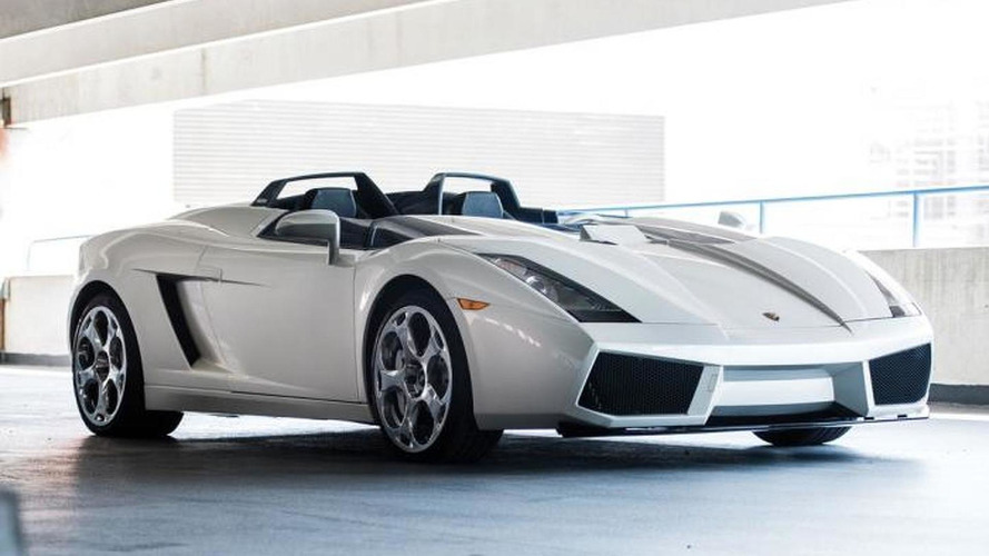 Unique 2006 Lamborghini Concept S auction ends without sale