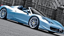 Ferrari 458 Spider restyled by A. Kahn Design