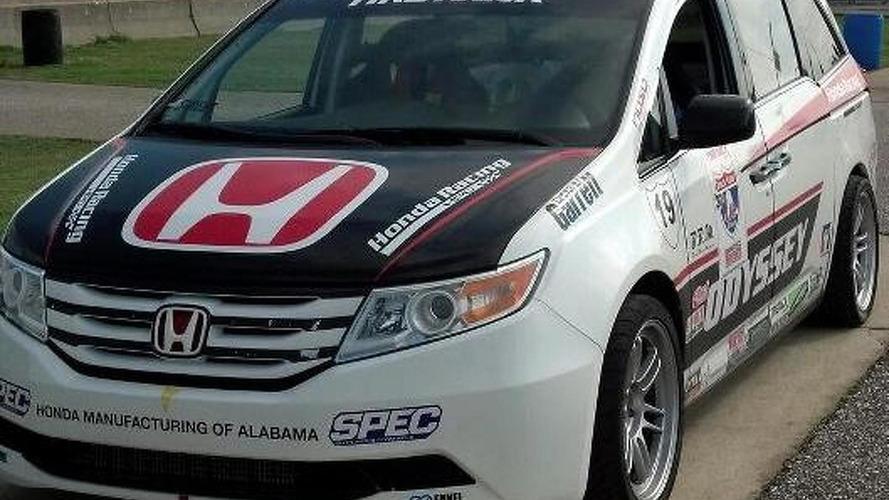 Turbocharged Honda Odyssey minivan headed to Pikes Peak