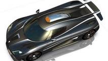 Koenigsegg One:1 render