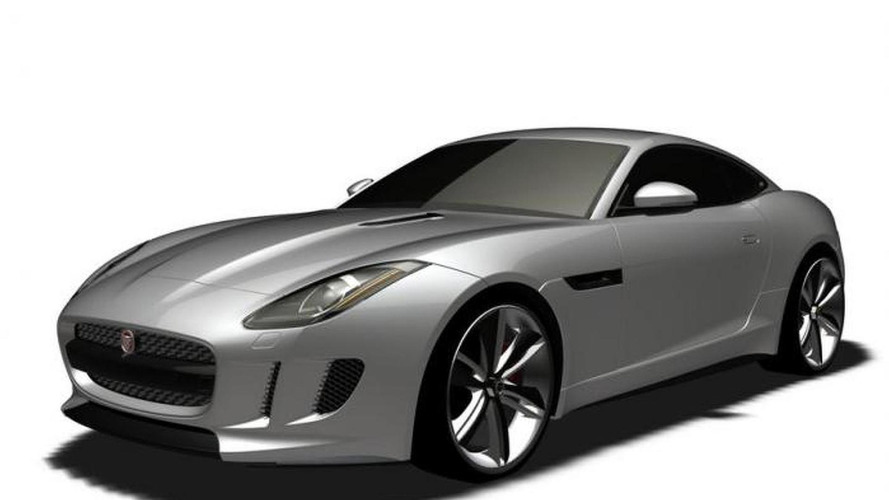 Jaguar leaked patent images depict C-X16 Concept, not F-Type Coupe