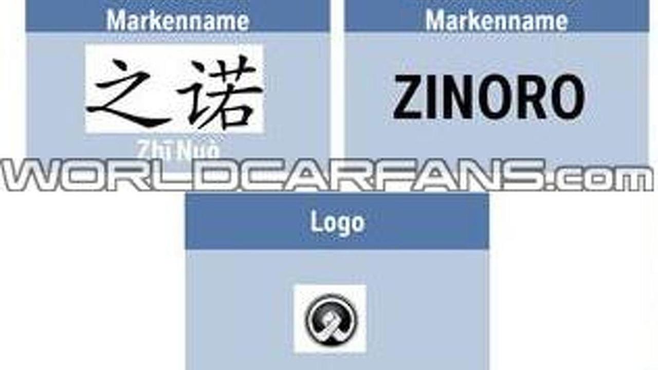 BMW Zinoro leaked logo 12.4.2013
